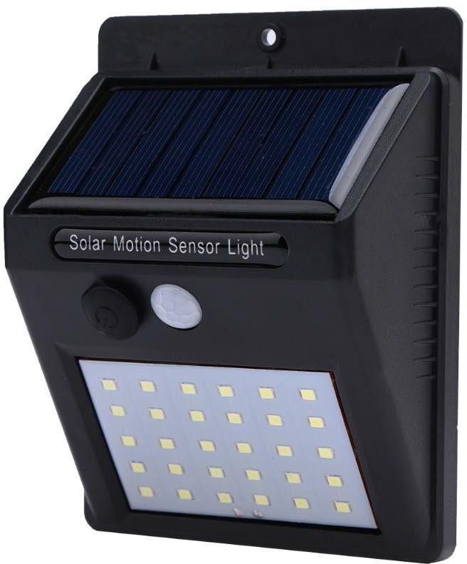 Solarna lampa 30 LED z czujka PIR