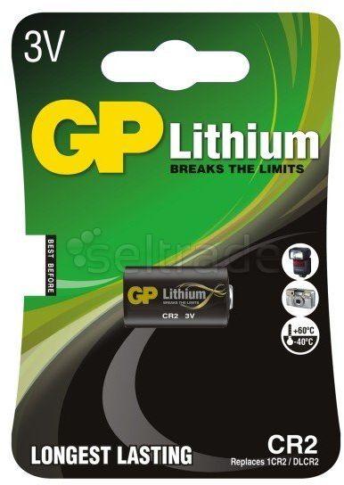 Bateria foto litowa GP CR2