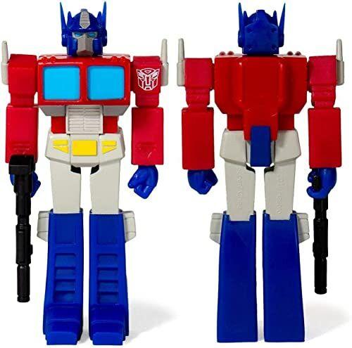 SUPER7 Transformatory TRANW01-OPT-02: Optimus Prime Reaction figura, wielokolorowe
