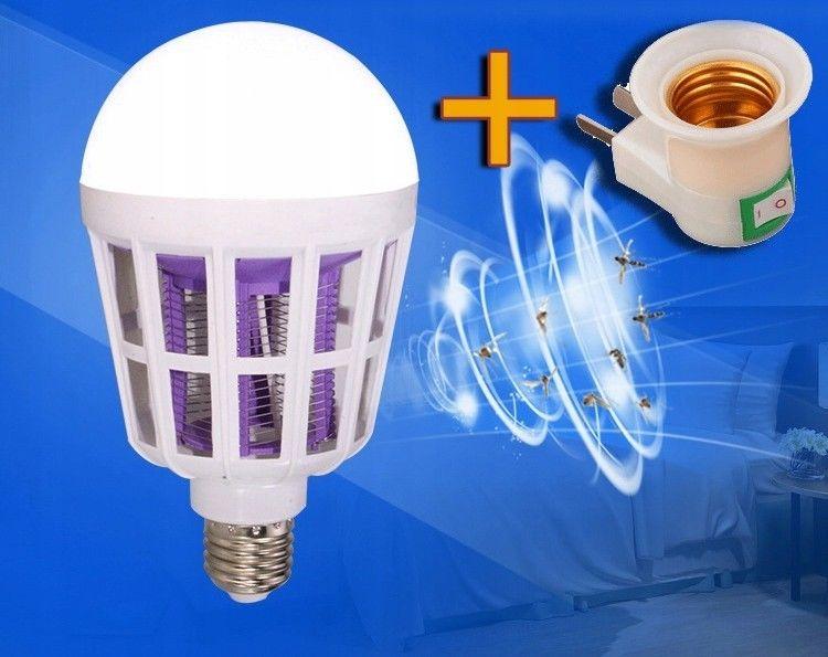 Wydajna żarówka owadobójcza lampa 15W E27
