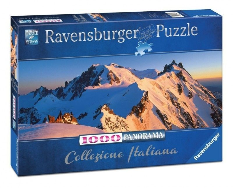 Puzzle Ravensburger 1000 - Mont Blanc, Monte Bianco