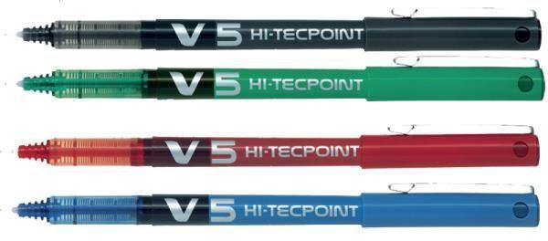 Cienkopis kulkowy PILOT V5 HI-TECPOINT