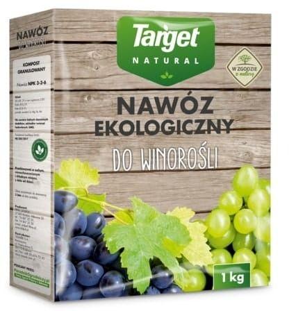 Nawóz do winorośli  ekologiczny  1 kg target