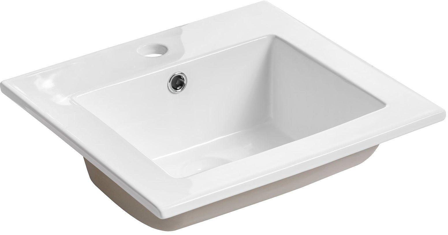 Ceramiczna umywalka meblowa Roko 2S prostokątna