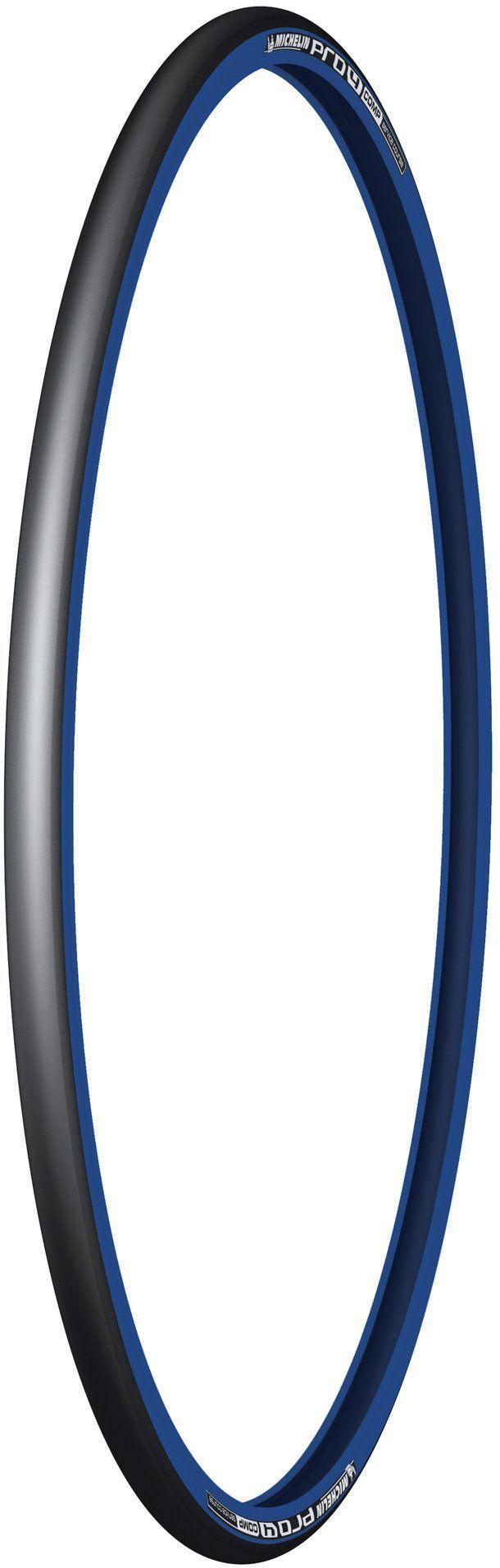 Michelin Pro4 Service Race Edition 2015 opona do roweru szosowego, koralik, 700 x 23 C, kurs serwisowy Pro4, czarny/niebieski, 700 x 23C