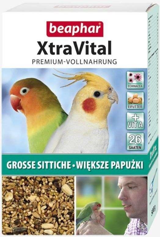 BEAPHAR - XtraVital pokarm dla średnich papug 500g