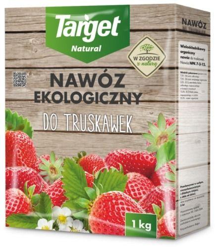 Nawóz do truskawek  ekologiczny  1 kg target