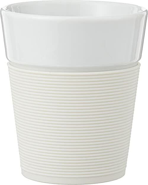 Bistro 11582-913 Bistro 2-częściowy kubek z silikonowym rękawem 0,3 l