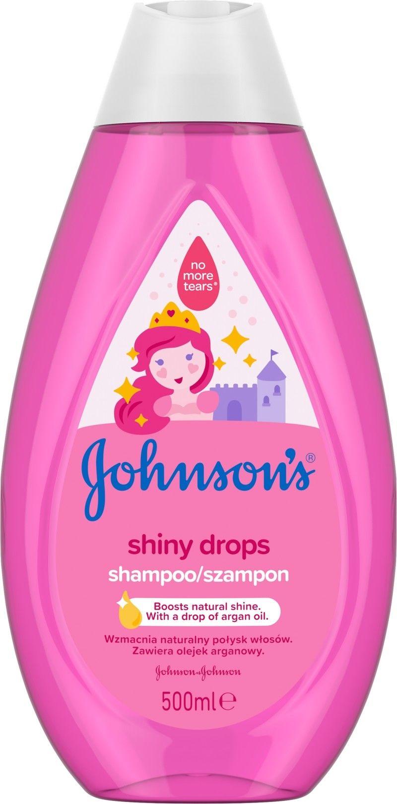 Johnson''s Baby Shiny Drops Szampon 500ml