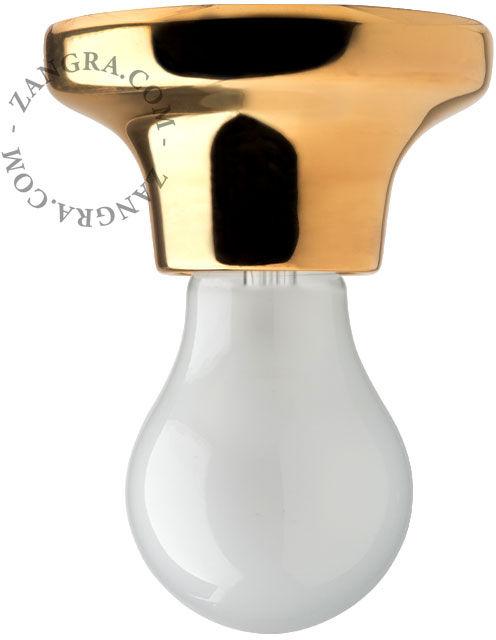 Lampa Zangra 001 Złota