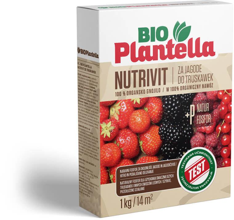 Nawóz organiczny do truskawek, malin, jeżyn 1kg. Naturalny nawóz Bio Plantella.