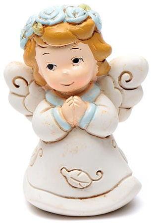 Aniołek modlący się żywica 6 cm