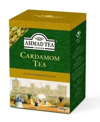 Ahmad Tea z kardamonem, herbata liściasta 500g