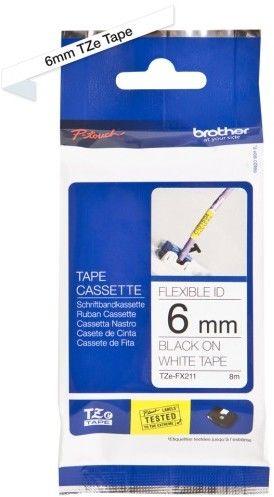Taśma laminowana elastyczna Brother TZE-FX211