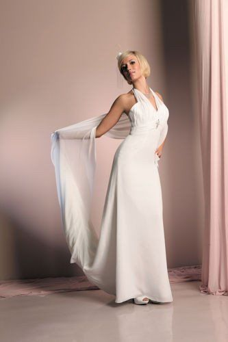 FSS558 Suknie Ślubne Suknia BIAŁY