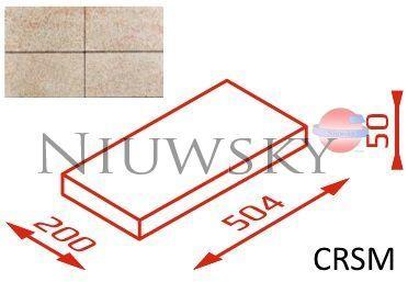 Daszek na słupek CRSM 50,4x20x5 kolor topaz /Joniec