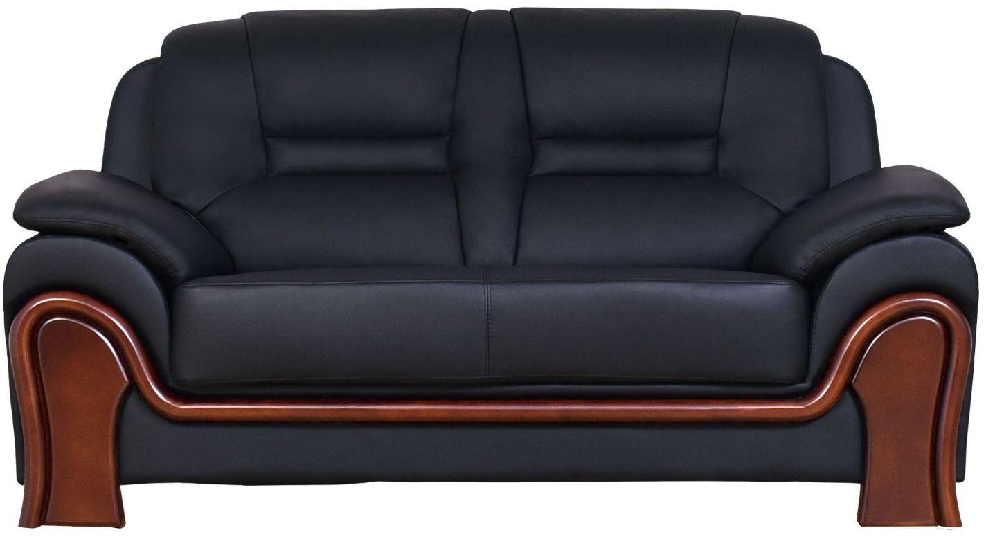 Sofa 2-osobowa PALLADIO czarny