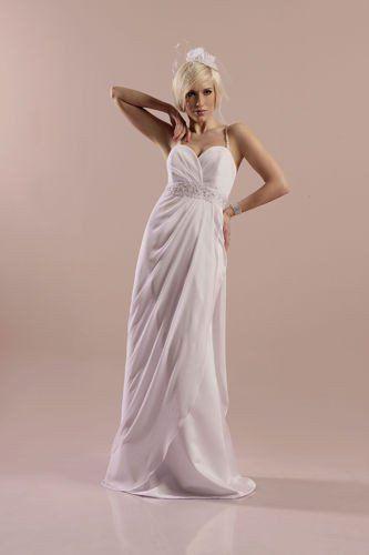 FSS572 Suknie Ślubne Suknia BIAŁY