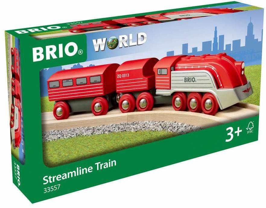 BRIO 63355700 Szybki Pociąg (63355700) Bezpieczna Zabawka Dla Dzieci Powyżej 3 Lat