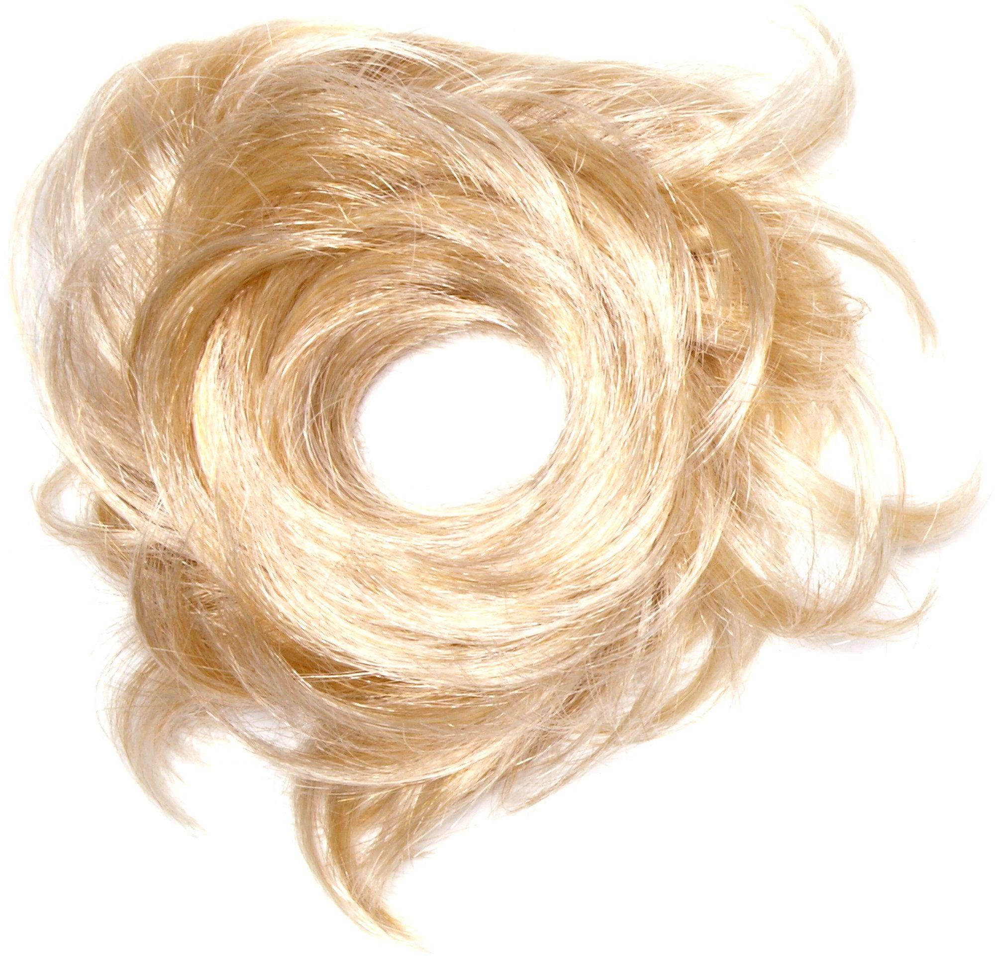 Love Hair Extensions Tornado gumka do włosów kolor M2460 - słoneczny blond/jasny blond, 1 opakowanie (1 x 1 sztuka)