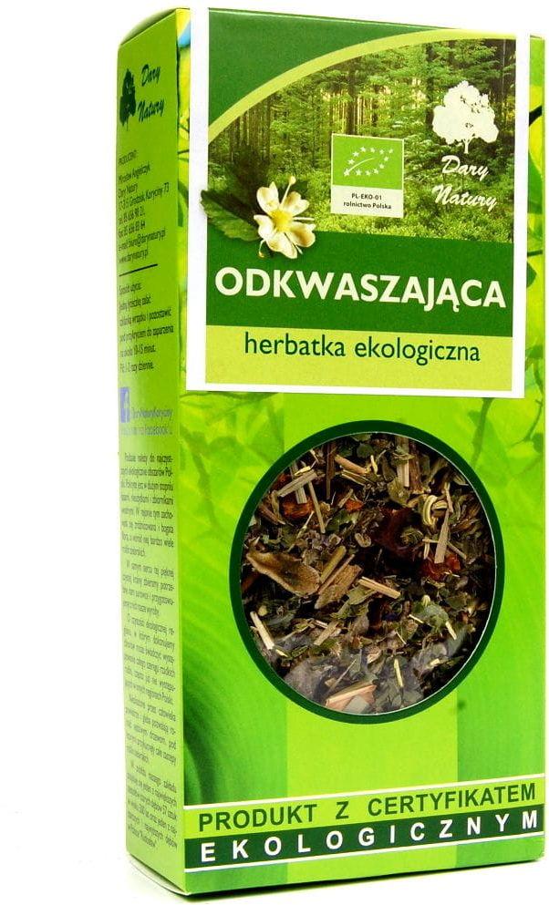 Herbatka odkwaszająca bio 50 g - dary natury