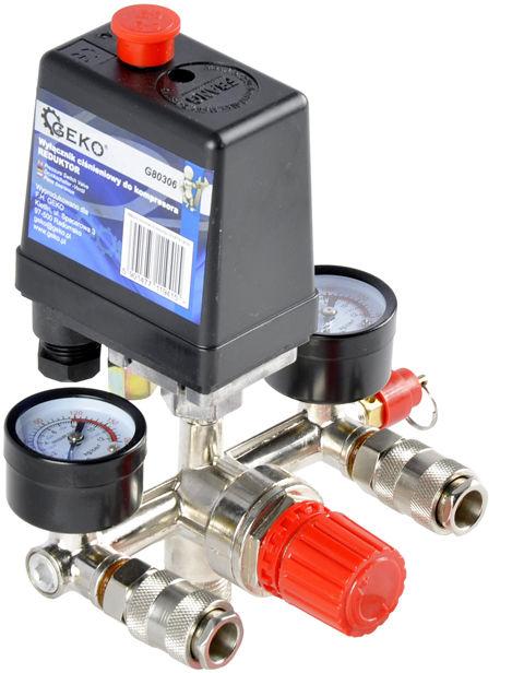 Presostat wyłącznik ciśnieniowy kompresora 24l 50l