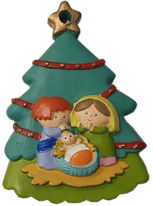 Zawieszka na choinkę Święta Rodzina