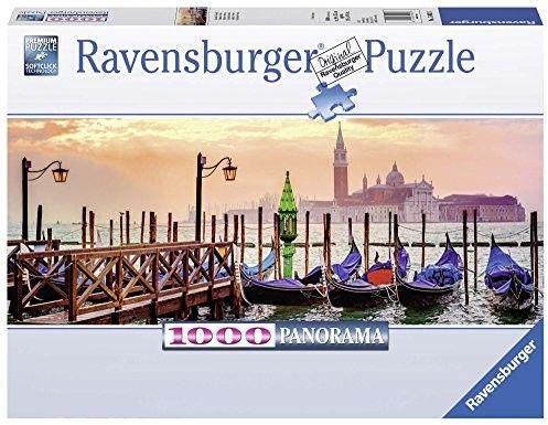 Puzzle Ravensburger 1000 - Weneckie Gondole, Venetian Gondolas