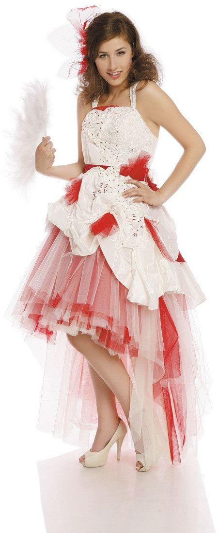 FSS594 Suknie Ślubne Suknia BIAŁY
