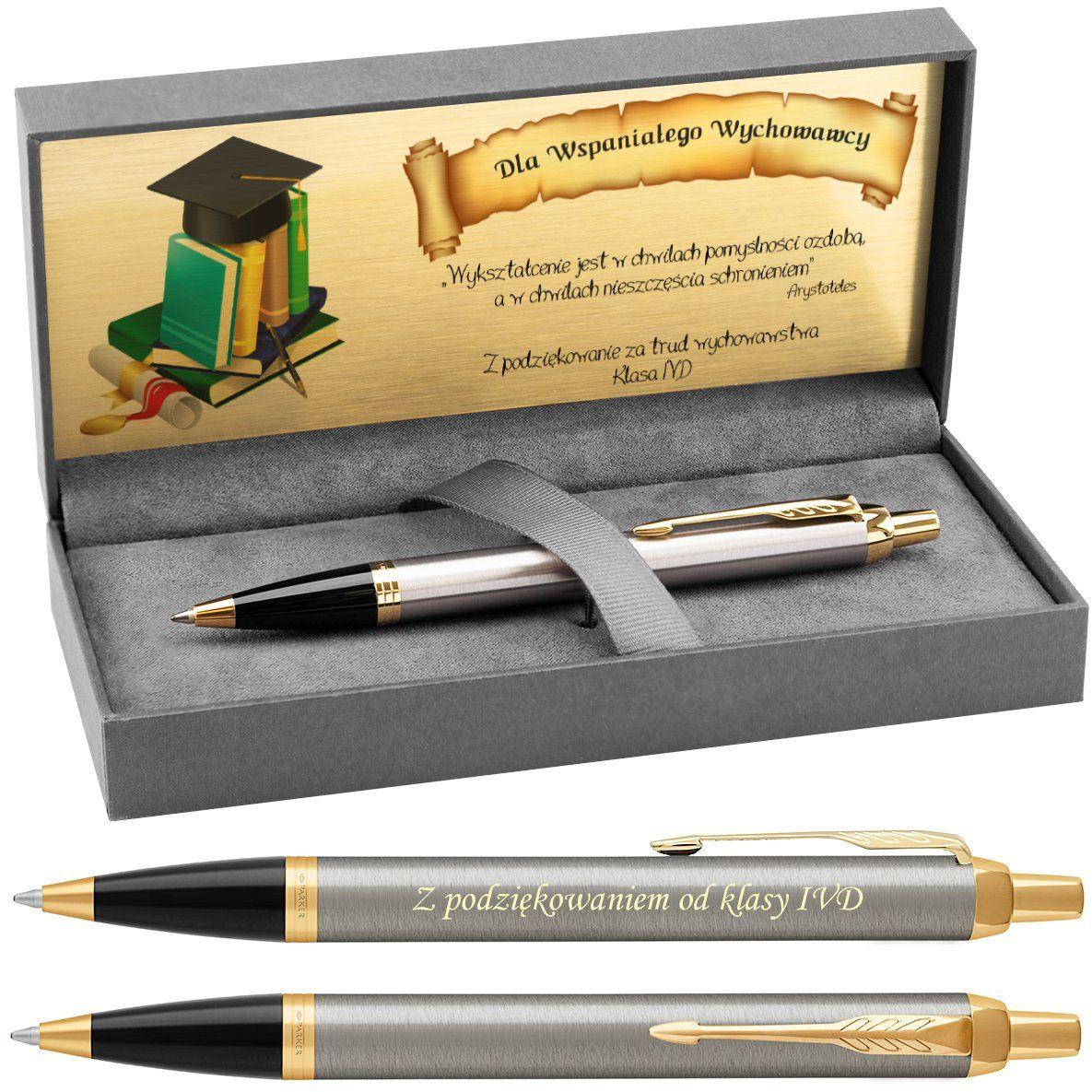 Długopis Parker IM Brushed Metal GT z Grawerem
