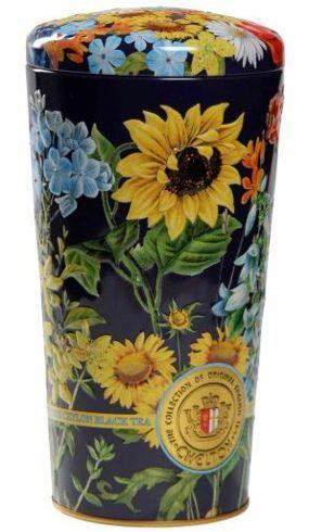 Chelton Wazon z polnymi kwiatami, herbata liściasta puszka 150g