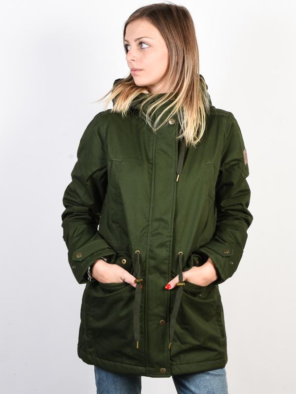 Element MISTY TWILL OLIVE DRAB kurtka zimowa kobiety - S