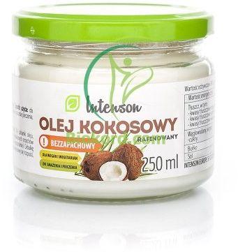 Olej Kokosowy Rafinowany, Bezzapachowy, Intenson