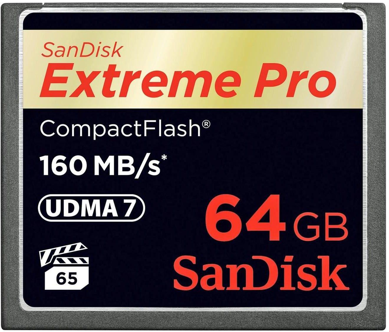 Karta pamięci CF - 64GB 160MB/s Sandisk EXTREME Pro