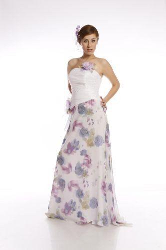 FSS596 Suknie Ślubne Suknia BIAŁY