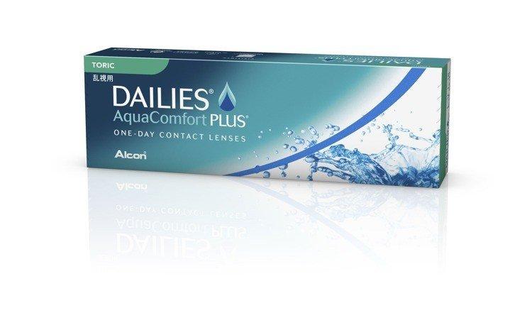 Soczewki Dailies AquaComfort Plus Toric 30szt.