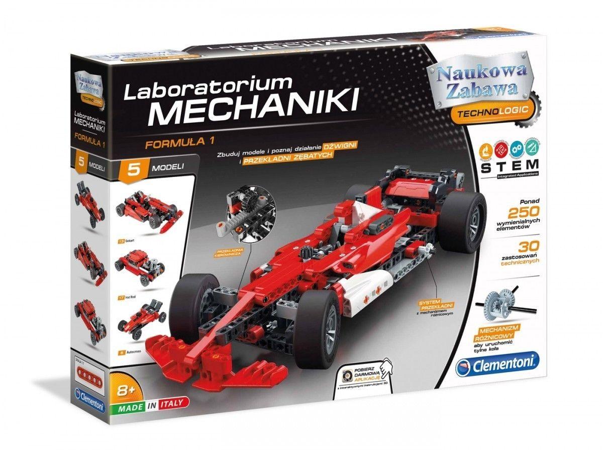 Clementoni - Laboratorium mechaniki Samochód wyścigowy 50520