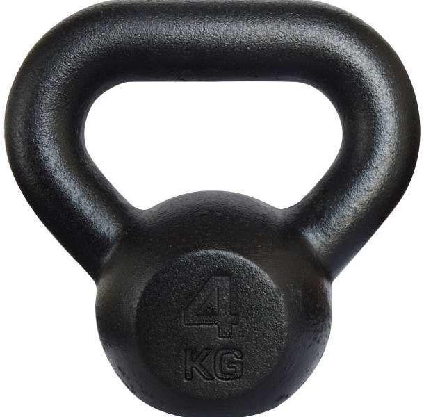 Kettlebell żeliwny RAW Tiguar 4 kg