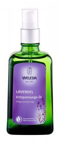 Weleda Lavender Relaxing olejek do ciała 100 ml dla kobiet