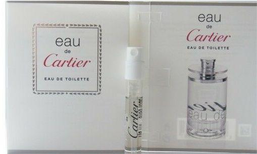 Cartier Eau De Cartier 1,5ml woda toaletowa [M] PRÓBKA