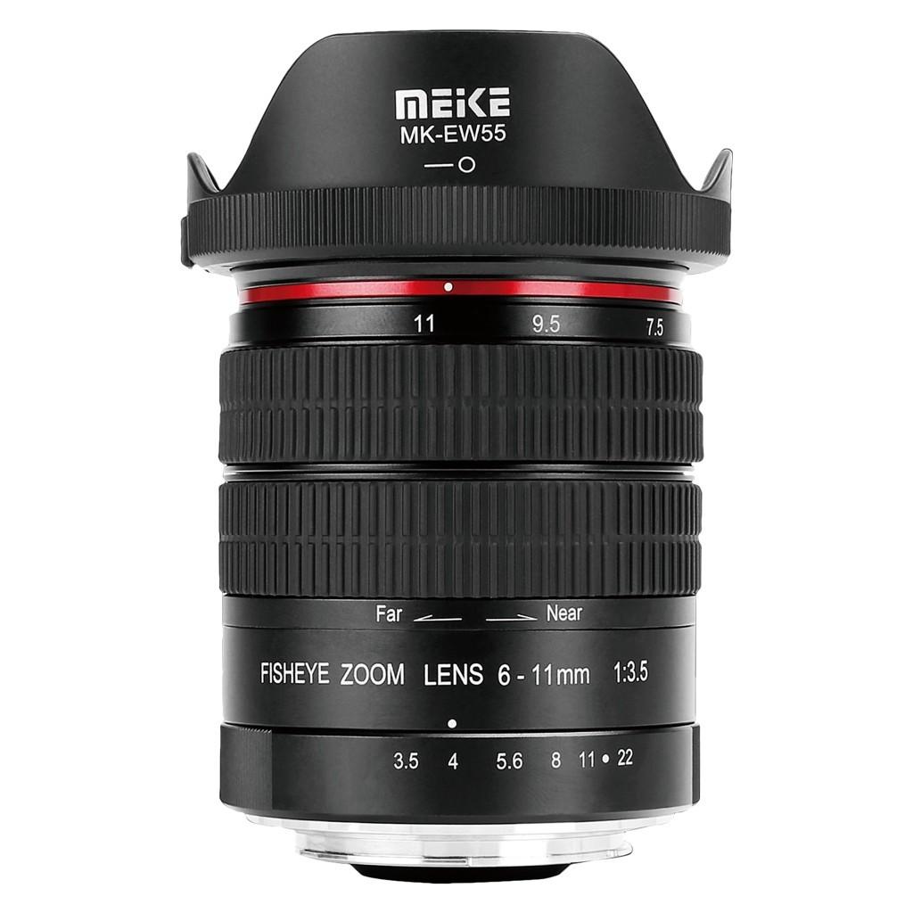 Obiektyw Meike MK-6-11mm F3.5 Fisheye Canon EF APSC