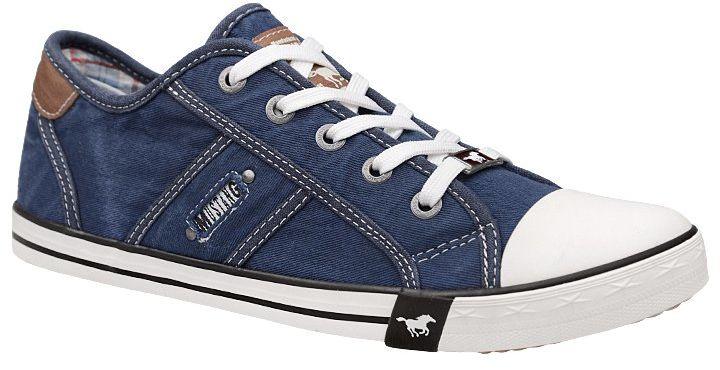 Trampki MUSTANG 36C0036 Jeans 1099-302-841 Jeans Blau - Jeans Granatowy Niebieski