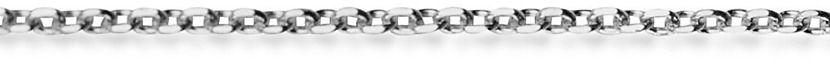 Staviori łańcuszek ankier. białe złoto 0,585.