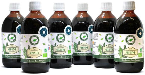 Zestaw napojów piołunowych Bio* - 6 sztuk, - ELF11_set_6pcs