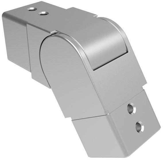 Uchwyt szkla-złączka rury-kolano AISI316 25-55 dow
