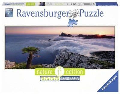 Puzzle Ravensburger 1000 - W morzu chmur, In a sea of clouds