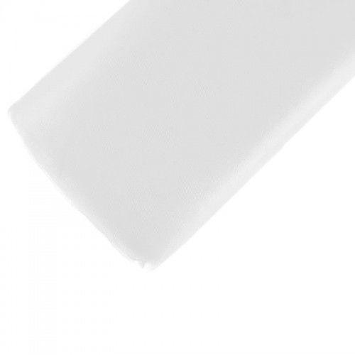 Tiul drobny, siateczka, biały, 1,5 x 10 m