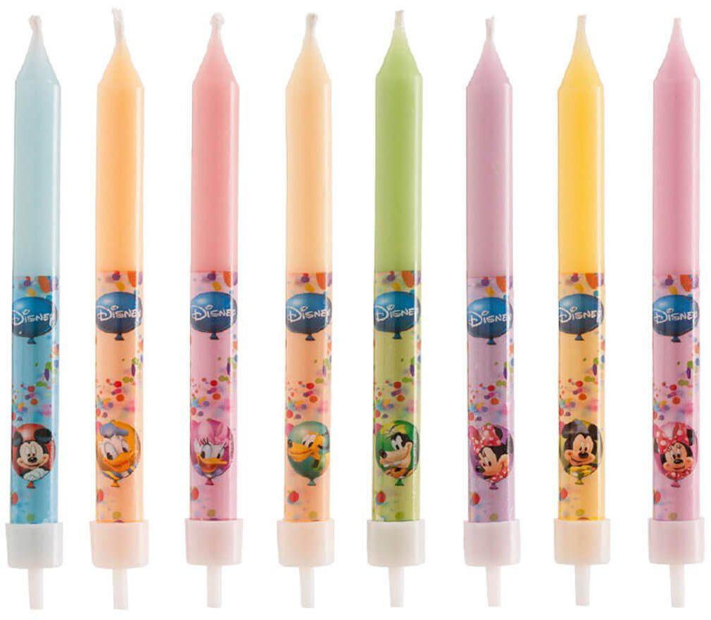 Świeczki klasyczne Myszka Mickey i przyjaciele - 8 szt.