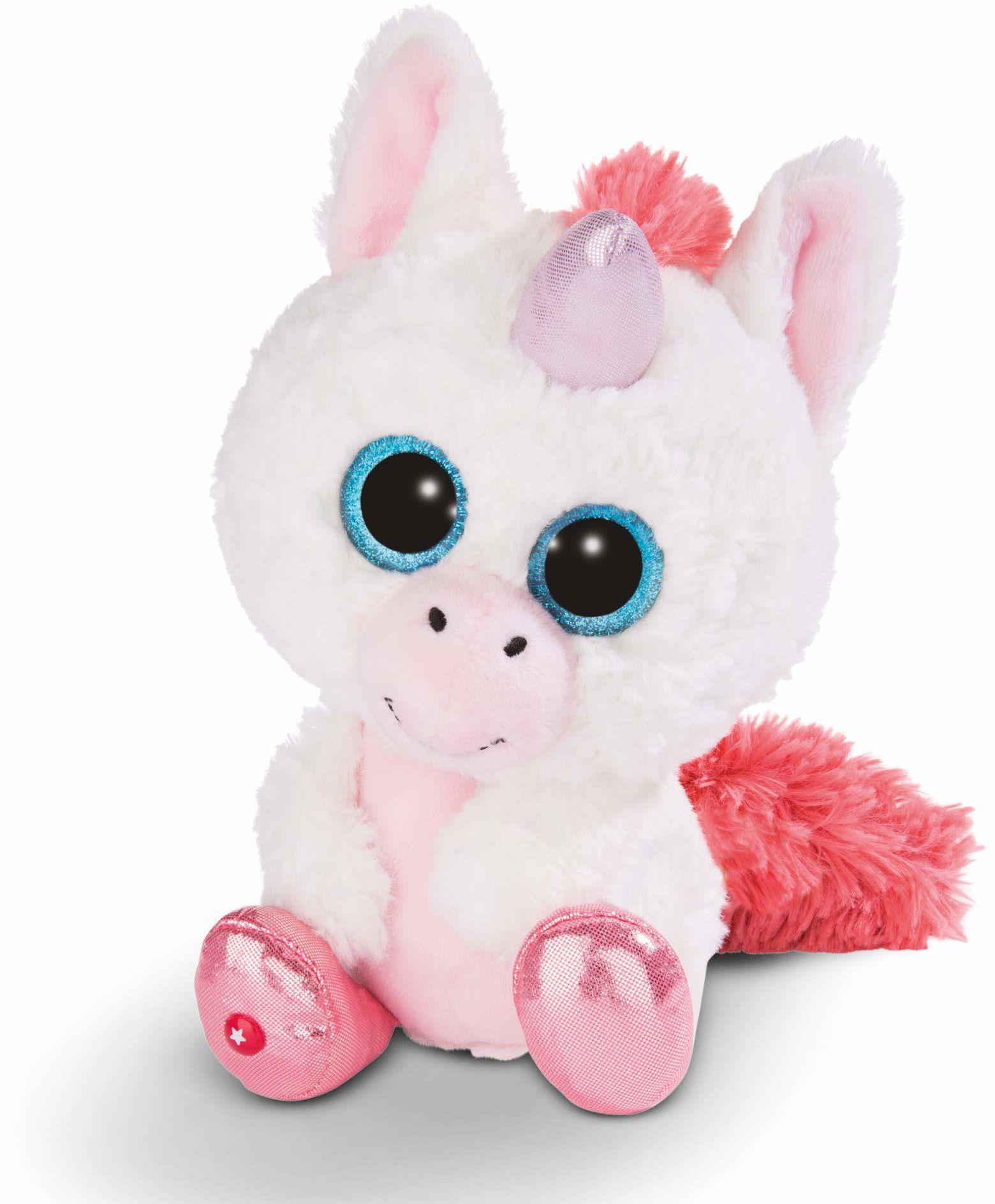 NICI 45571 GLUBSCHIS przytulanka zabawka jednorożec mleczna opłata 25 cm