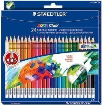 Kredki z gumką Noris Club 24 kolory STAEDTLER - Staedtler